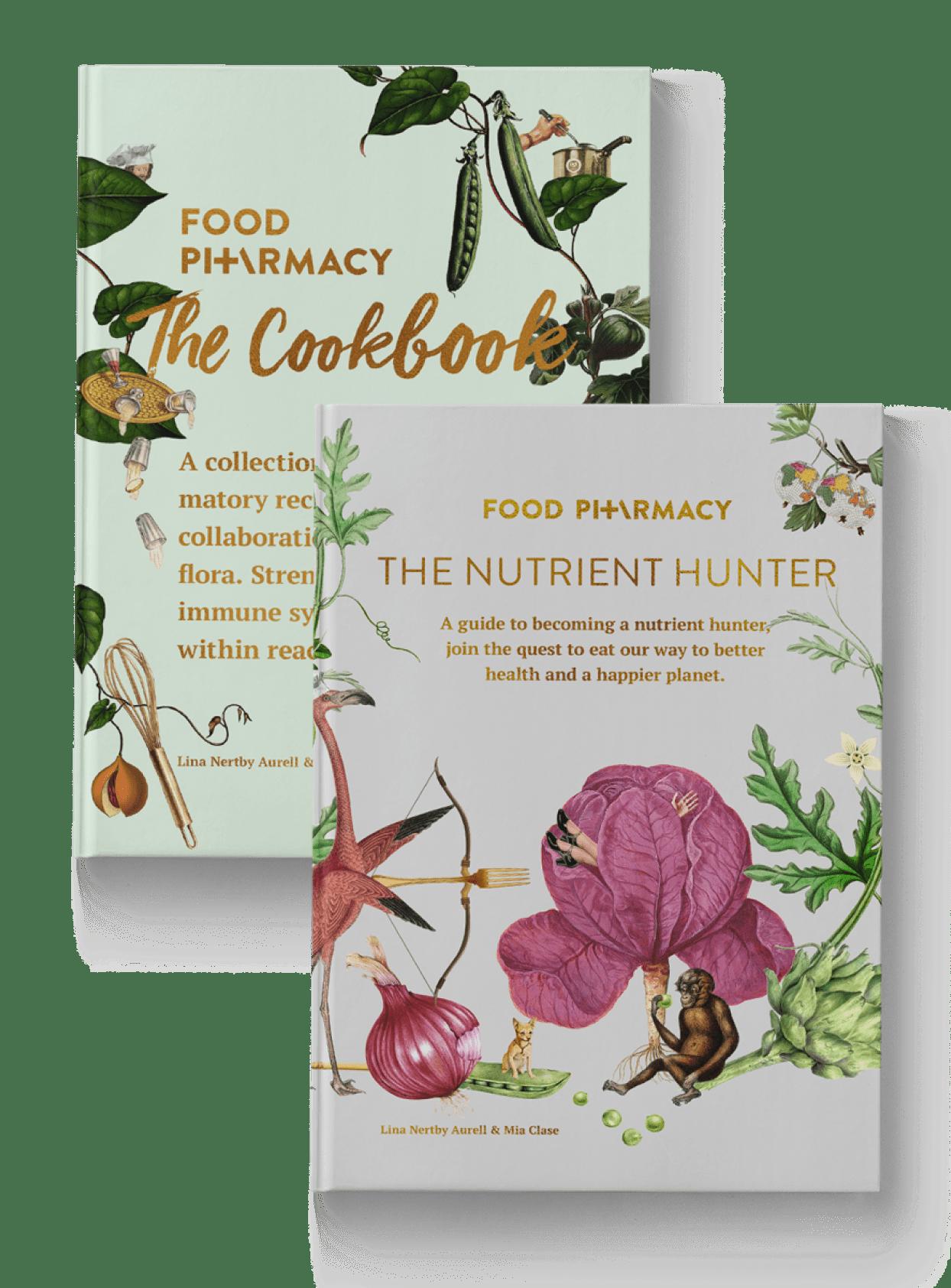 Cookbook + nutrient hunter book